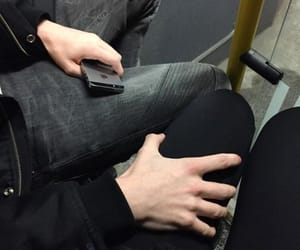 couple, hands, and boy image