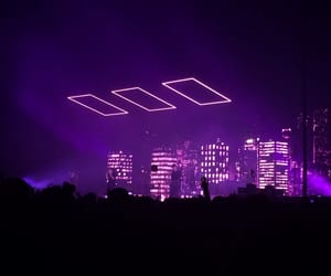 concert, purple, and aesthetic image