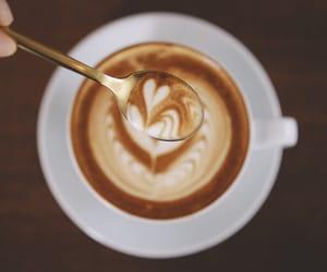 cappuccino, coffee, and cream image