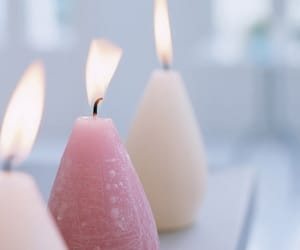 candles, pastel, and photography image