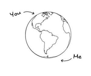 you, me, and world image