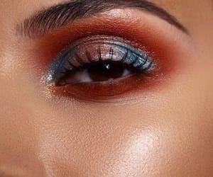 autumn, blue, and eyes image