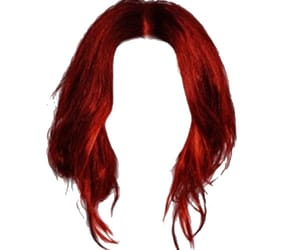 red, red png, and red hair aesthetic image