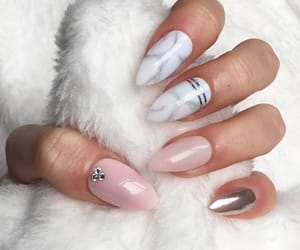 style, nails, and Nude image