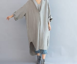 etsy, grey dress, and dresses for women image