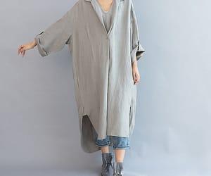 etsy, long dress, and holiday dress image
