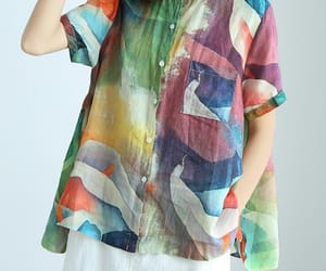 etsy, womens top, and large size shirt image