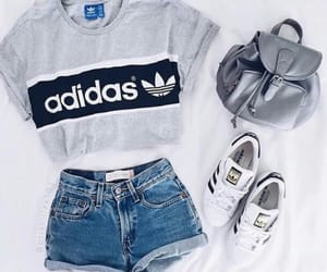 adidas, bag, and clothes image