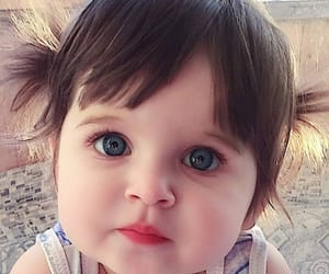 baby, pretty, and cute image