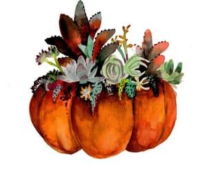 art, helloween, and pumpkin image