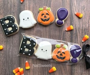 Cookies, ghost, and Halloween image
