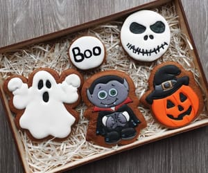 Cookies, treat, and ghost image