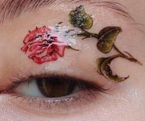 art, bold, and eyeliner image