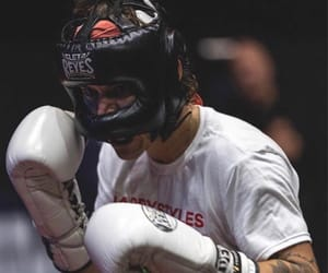 Harry Styles, boxing, and style image