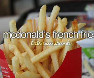 McDonalds, fries, and food image