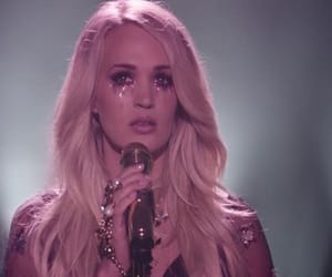 video, carrie underwood, and cry pretty image