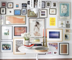 art, art wall, and home image