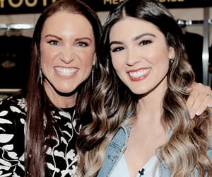 wwe, cathy kelley, and stephanie mcmahon image