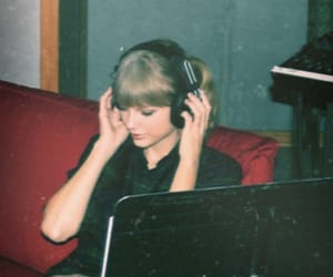 red, Taylor Swift, and 1989 image