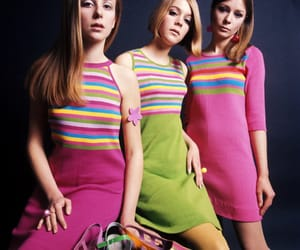60s, fashion, and stripes image
