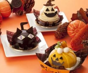 dessert, ghost, and pumpking image