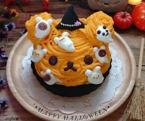 dessert, pumpking, and cute image