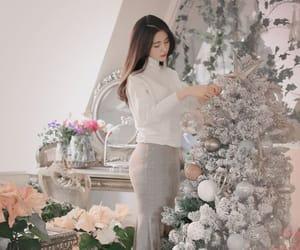 korean fashion, winter outfit, and korean style image