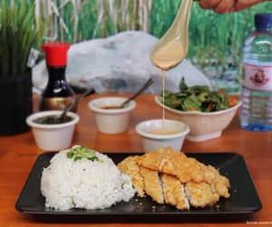 comida, food, and gohan image