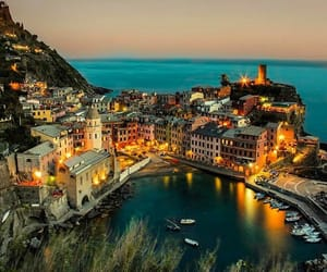beach, boats, and italy image