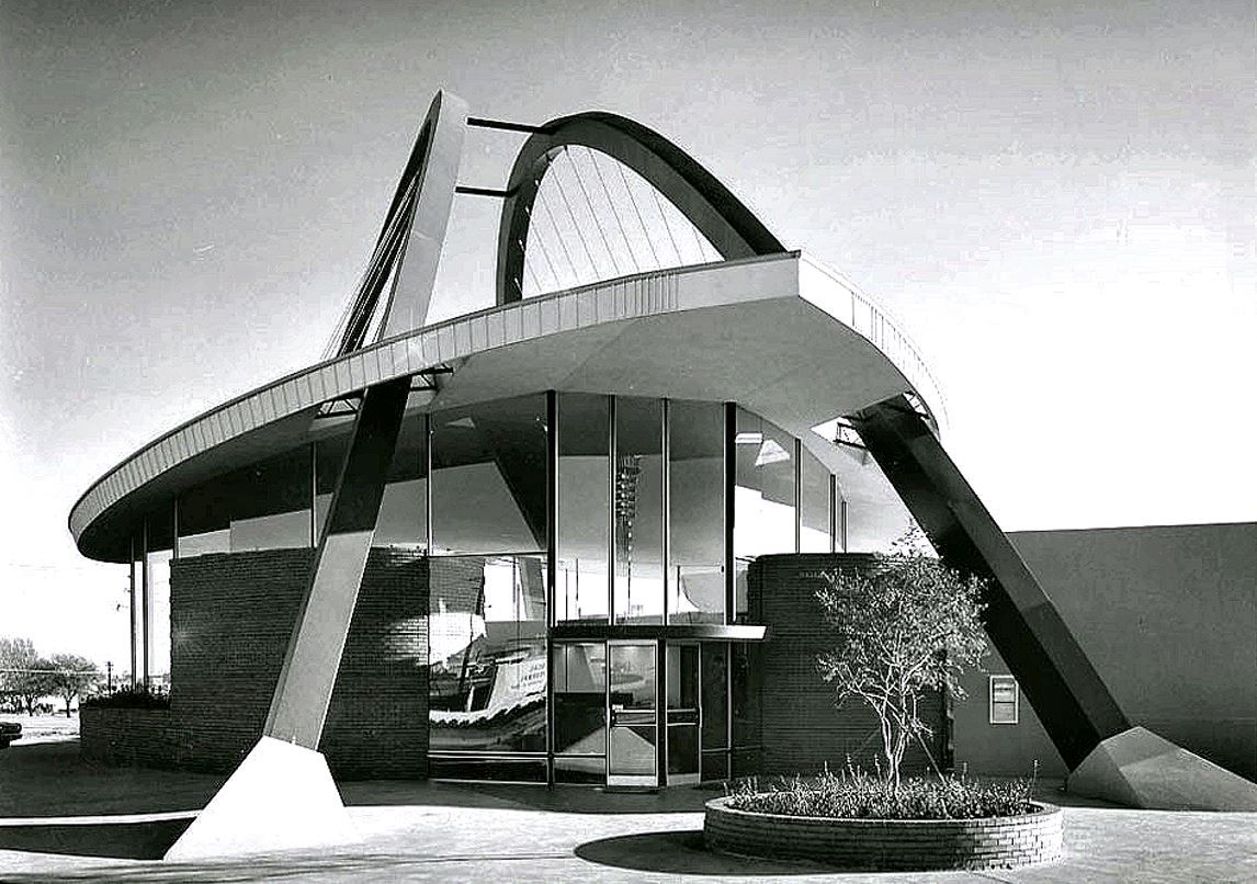 architecture, vintage photography, and mid century image