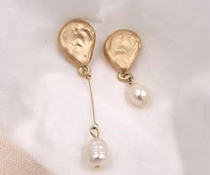earring, fashion, and jewel image