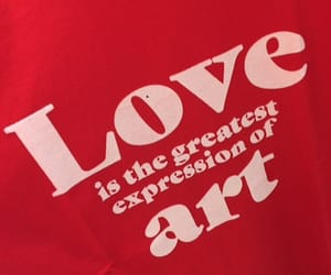 quote, art, and love image