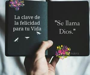 frases, dios, and amor image