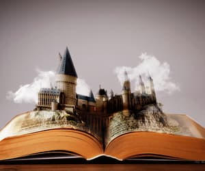 books, gif, and harry potter image