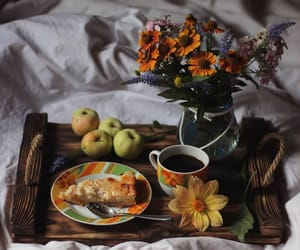 autumn, flowers, and food image