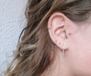 ear, helix, and pierced image