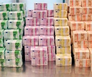 €, millionnaire, and euro million image