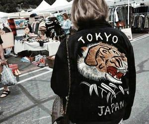 girl, japan, and tokyo image