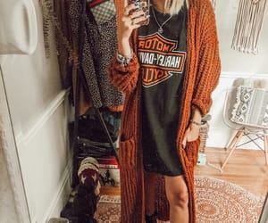 alternative, cardigan, and fall image