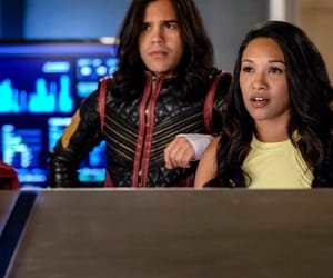 vibe, iris west allen, and the flash image
