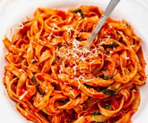 pasta, food, and meal image