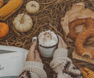 autumn, bagels, and breakfast image