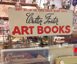 book, vintage, and art image