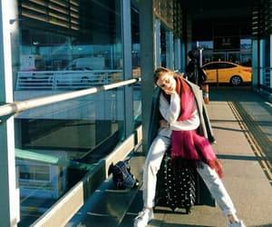 airport, baggage, and grain image