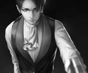 anime, manga boy, and levi ackerman image