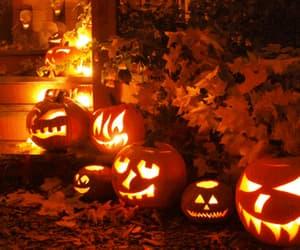autumn, Halloween, and gif image