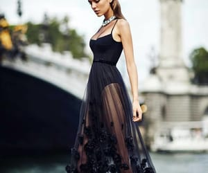 beauty, black, and dresses image