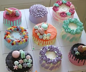 cakes, chocolate, and decor image