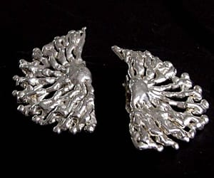 clips, earrings, and bouclesoreilles image