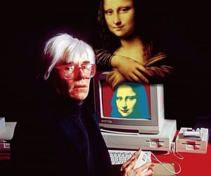 andy warhol and mona lisa image